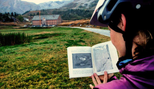 """Over the Alps On A Bicycle"" von Elizabeth Pennell"